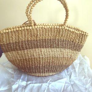 Summer Straw purse